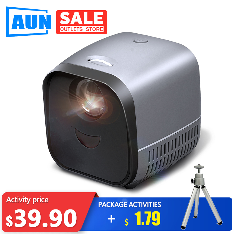 Super MINI Projector L1   USB LED Beamer Video Projector For 1080P Home Theater HDMI USB Media Player High-End Gifts