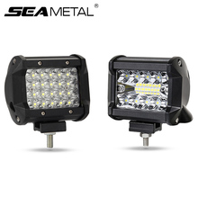 """4"""" 12V LED Car Work Light LED Auto Day Lamp Super Bright Light Bar Waterproof Spot Beam for Offroad Tractor Truck 4x4 SUV ATV"""