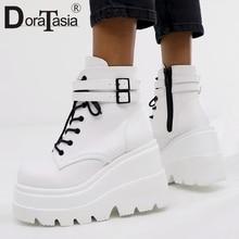 DORATASIA Luxury Brand New INS Hot Ladies High Platform Boots Fashion High Heels