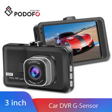 Podofo Dash Cam Mini WIFI Car DVR cámara grabadora de vídeo inalámbrica versión nocturna g-sensor inteligente dashcam DVR APP Monitor(China)