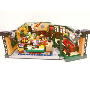 New Classic TV Series American Drama Friends Central Perk Cafe Fit Model Building Block Bricks lepines 21319 Toy Gift Kid(China)