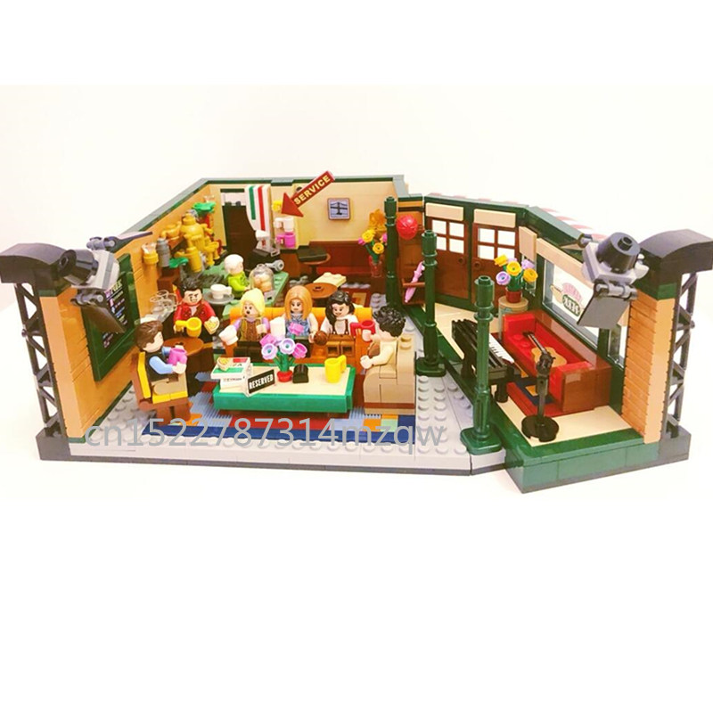 21319 Toy Bricks Model-Building-Block Legoinglys Central Perk TV Gift Classic Cafe Drama-Friends title=