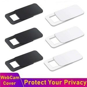 Tongdaytech веб-камера крышка затвора магнит слайдер ультра тонкий чехол для камеры для IPhone Mac ноутбук мобильный телефон объектив конфиденциальн...