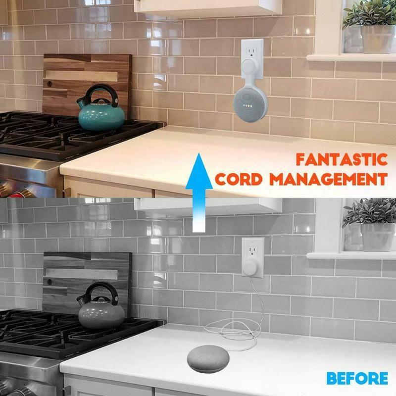 Pemegang Pemasangan Dinding Keluar Untuk Pembantu Suara Mini Rumah Google Pendakap Rumah Pintar Dapur Bilik Tidur Bilik Mandi Pemegang Pemasangan Audio