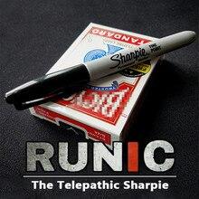 RUNIC от Jimmy stranna(Gimmick и онлайн инструкция) карты волшебные карты трюки иллюзии призрачная карта коробка волшебник веселье