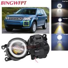 1 paar Auto Zubehör H11 LED Nebel Licht mit Engel Auge Für Land Rover Freelander 2 LR2 FA _ 2006 ~ 2014 für Range Rover Sport L322
