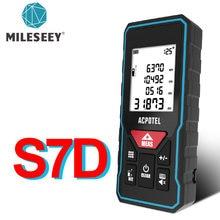 Mileseey telémetro láser X5 лазерная рулетка buscador láser de distancia láser Digital Medidor láser cinta métrica láser