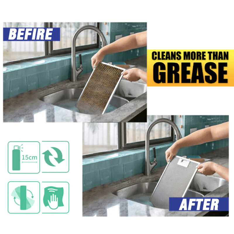 Household Cleaning Chemicals All-Purpose Cleaner Grease Magic Degreaser Degreaser And Cleaner Spray Dissolve The Dirt Quickly