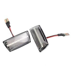 Image 4 - مصباح مؤشر جانبي LED ديناميكي ، مصباح مؤشر لأوبل زافيرا B MK2 2005 2014 كورسا D MK4 ميريفا B MK2 ، 2 قطعة