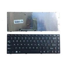 Новая клавиатура США для Lenovo Y480 Y480N Y480M Y480A Y480P Y485M Y485N Y485P Y485 черная клавиатура для ноутбука США