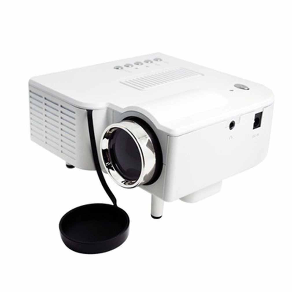 UC28 + AUplug ポータブル 1080 1080p Hd プロジェクターホームシネマシアターアップグレード HDMI インタフェースエンターテイメントデバイスマルチメディアプレーヤー