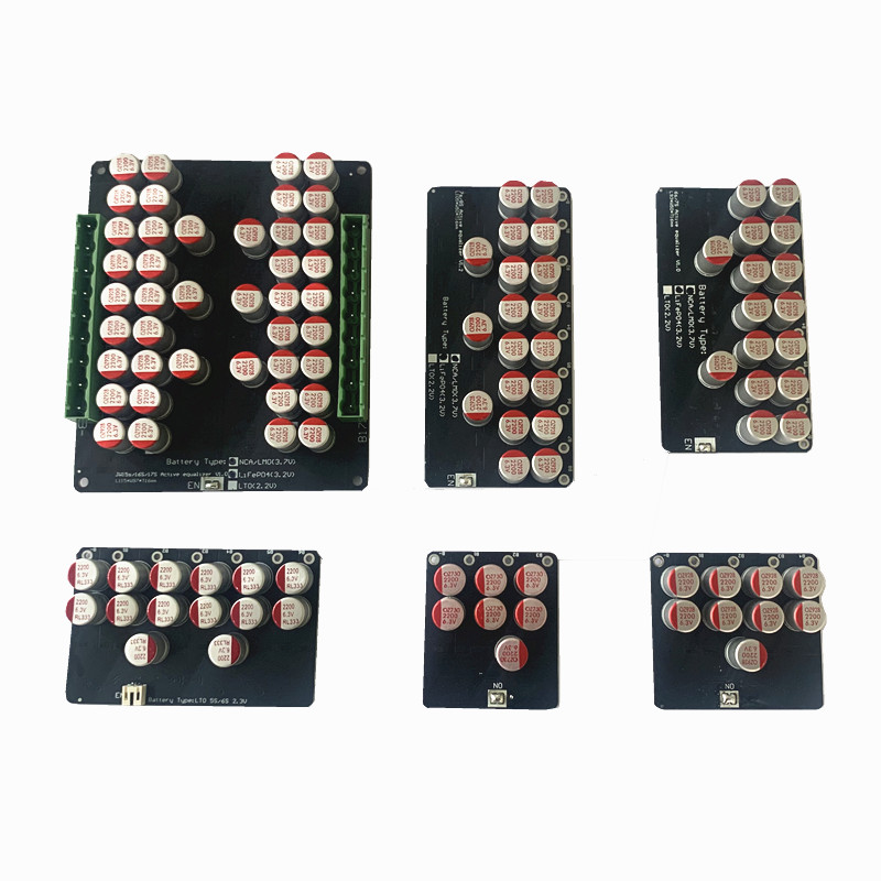 3S 4S 5S 6S 7S 8S 17S 5A  Active Equalizer Balancer  Lifepo4 Lithium Lipo LTO Battery Energy Active Equalization  Fit Capacitor