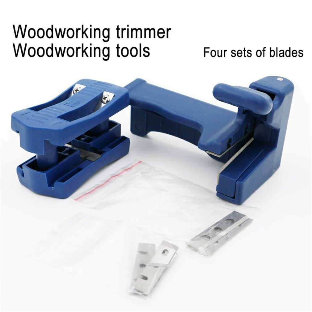 PVC Double Edge Trimmer Wood Edge Banding Machine Woodworking Manual Tail Trimming Tool Carpenter Hardware Tools