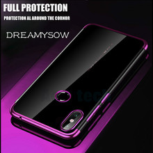 цена на Case For Xiaomi Redmi Note 7 5A 5 6 Pro Luxury Plating Silicone Clear Cover Soft TPU Shell For Redmi 6 6A 6 Pro S2 5 Plus Cover