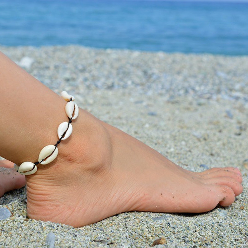 Bohemian Shell Anklet Ethnic-Style Women Accessories Fashion Ornament Summer Beach Style