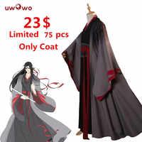 [Nur Mantel größe L] Wei Wuxian Die Yiling Cosplay Großmeister von Dämonische Anbau Kostüm Wei Wuxian Mo Dao zu Shi Kostüm Männer