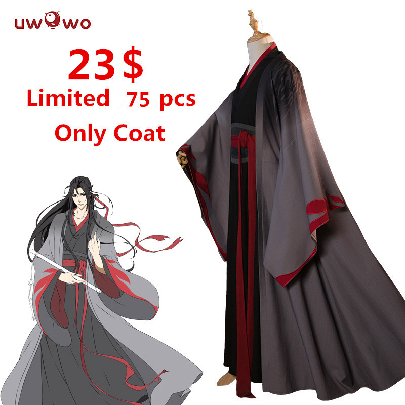 [Only Coat Size L -Only Coat Size L ] Only Coat Size L Wei Wuxian The Yiling Cosplay Grandmaster Of Demonic Cultivation Costume