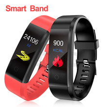 Top Quality Health Bracelet Heart Rate Blood Pressure Smart Band Fitness Tracker Smartband Wristband PK Mi Band 2 itormis smart band wristband fitness bracelet with fitness tracker heart rate pedometer blood pressure pk id115 miband mi band 2