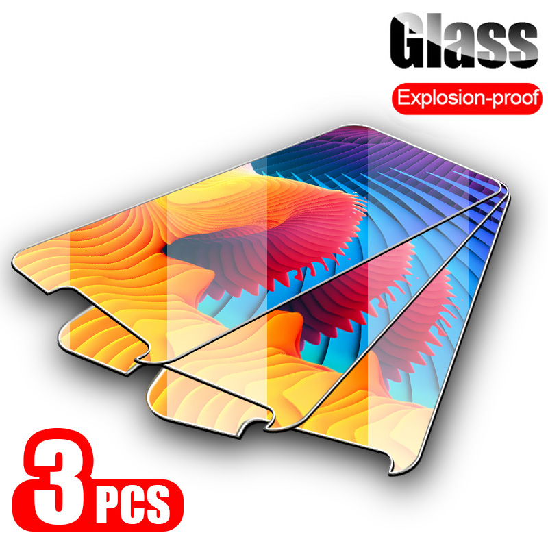 3PCS 9H Tempered Glass For Alcatel 1C 1S 1V 2019 1X 2018 Evolve Glass Screen Protector For Alcatel 3C 3V 3X 3L 2019 Glass Film