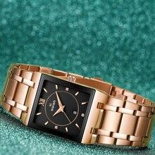 Luxury Bracelet Watches Dress Rose Gold Top-Brand Designer Women's Ladies Relogio Quartz