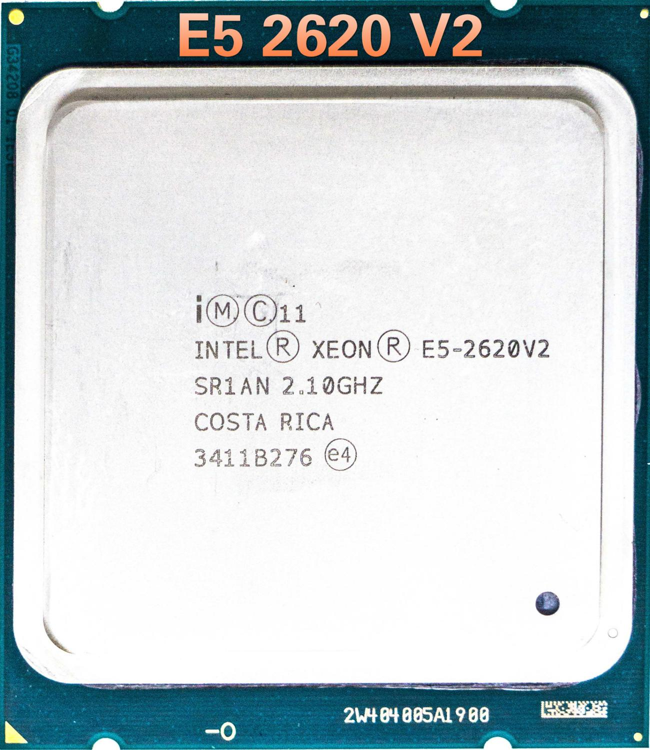 Intel Xeon <font><b>E5</b></font> <font><b>2620</b></font> <font><b>V2</b></font> <font><b>E5</b></font>-2620V2 Processor SR1AN 6 Core 2.1GHz 15M 80W Server CPU image