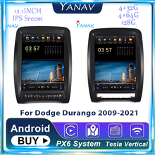 128GB Android GPS Navigation Car Radio For Dodge Durango 2009-2021 Auto Stereo Receiver Audio Multimedia Player Tesla Head Unit