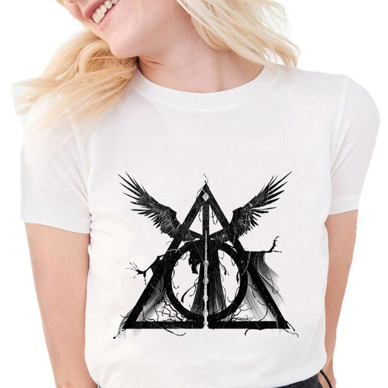 mortellement Hallows trois frères conte Adultes /& Enfants Tee Top Harry Potter t-shirt