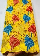 Новое поступление, швейцарская вуаль, кружево в Швейцарии, высокое качество, африканская сухая кружевная ткань, 100% дырочек, хлопковое круже...