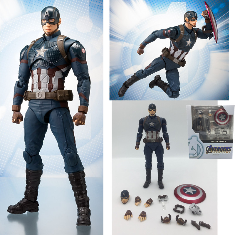 15cm-new-style-font-b-avengers-b-font-endgame-captain-america-action-figure-pvc-movable-collection-of-toy-gifts