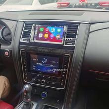 Автомагнитола для Nissan патруль Y62 2010-2020 Android двойной сенсорный экран автомобильный GPS-навигатор мультимедийный плеер AHD камера