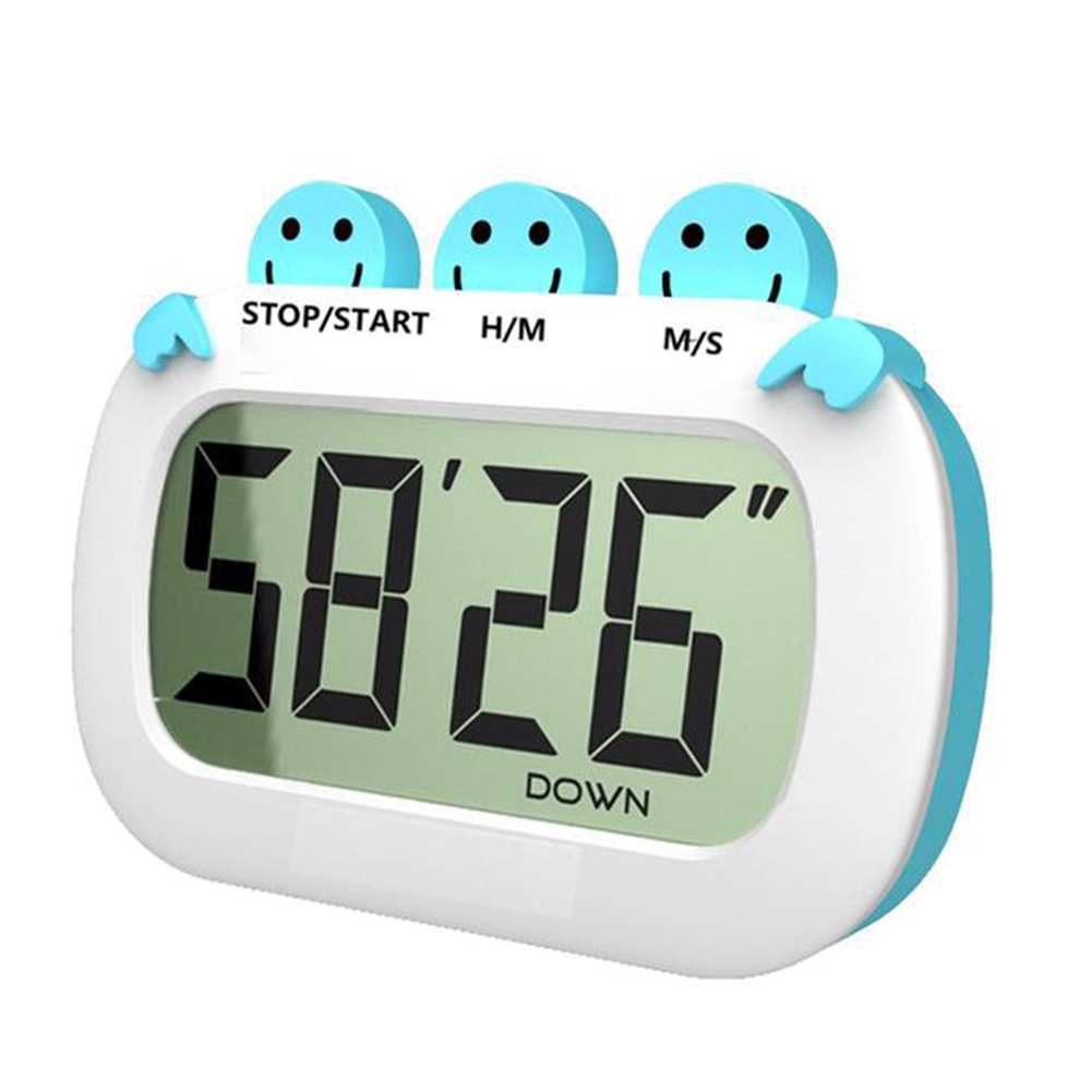 Stopwatch Tools Gadgets Cooking Timer Fashion Kitchen Electronic Digital LCD Display Household Practical Alarm Clock Big Screen