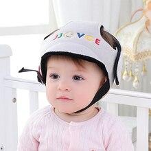 Детский защитный шлем для мальчиков и девочек, защищающий от столкновений, защитный шлем для младенцев, для безопасности и защиты, мягкая шапка для прогулок, Детская кепка