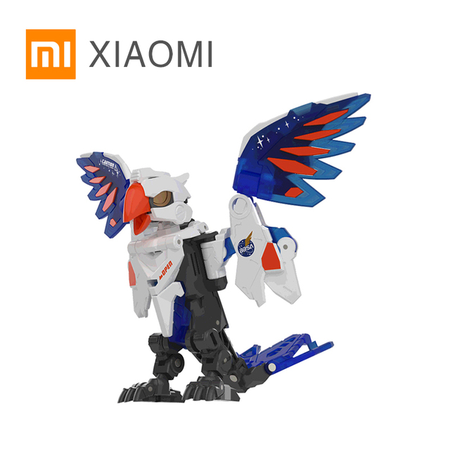 XIAOMI MIJIA 52 おもちゃユニバーサルシリーズ計画オウム動物モデルのおもちゃアクションフィギュア変形ロボット 5 センチメートルキューブ子供のギフト