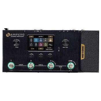 Hotone ampero amp modeler & multi processador de efeitos MP-100