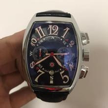 AAA Dropshipping 2021 najlepiej sprzedające się produkty RM zegarek dla mężczyzn skórzany pasek chronograph kwarcowy zegarek Relogio Masculino tanie tanio specht sohne 22cm Moda casual QUARTZ NONE 3Bar Klamra CN (pochodzenie) ALLOY 10mm Hardlex Kwarcowe Zegarki Na Rękę Papier