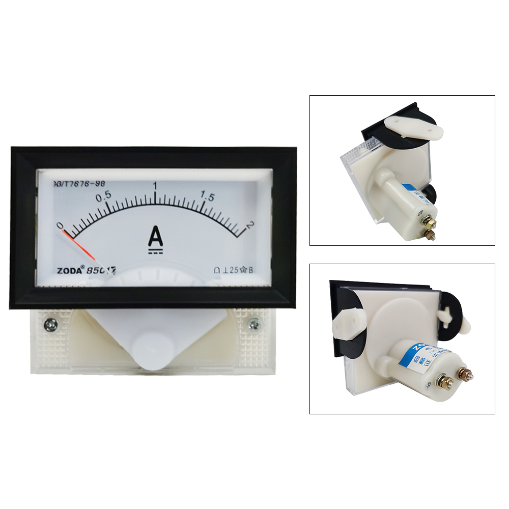 1PC 85C17-A 5A 10A 50A/75mV 300A/75mV DC Direct Analog Meter Panel AMP Current Ammeters Gauge Ammeter Use With Shunt 70*40MM