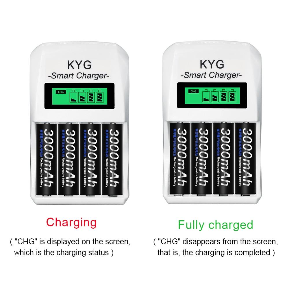 PALO-batería recargable Ni-MH NIMH de 3000 mAh para micrófono KTV, cámara de juguete de baja descarga, 1,2 V, AA