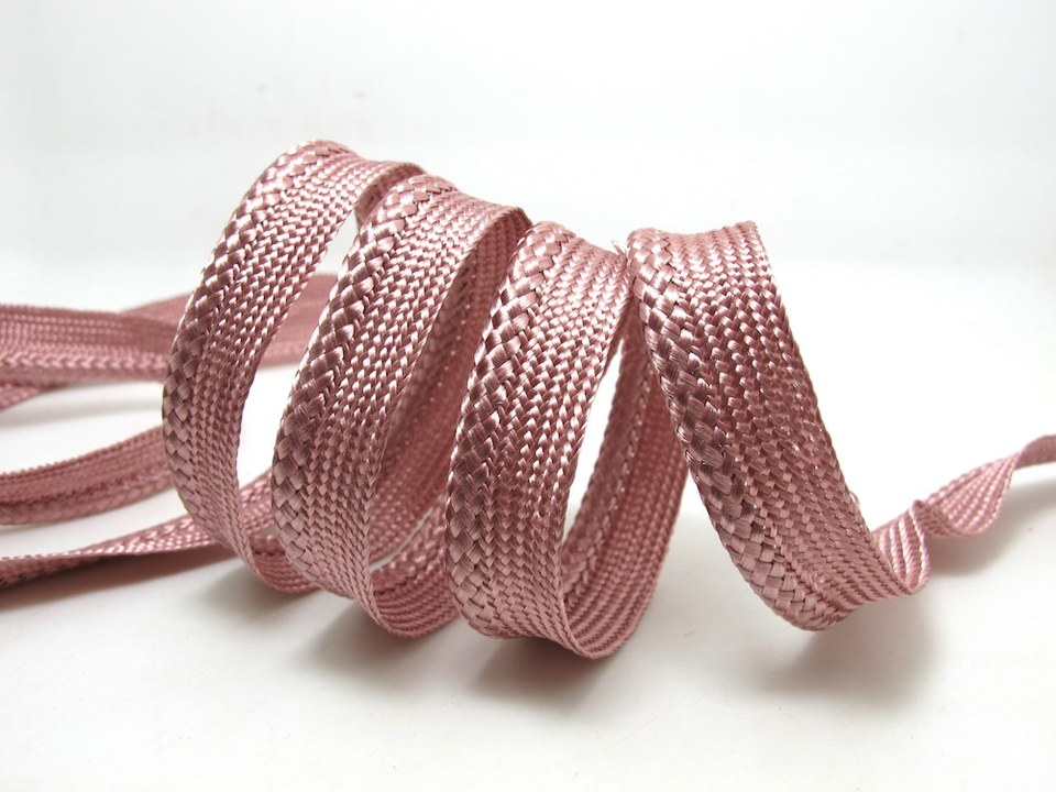 Lacing Piping Cord Braided Edging Trimming Bias Rope for DIY Wedding Dressmaking
