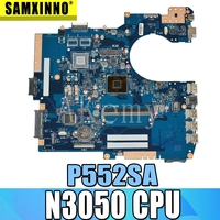P552SA Motherboard N3050 CPU For ASUS P552SJ PU552SJ PRO552S P552S PU552S P552SA Laptop motherboard P552SA Mainboard|Motherboards|Computer & Office -