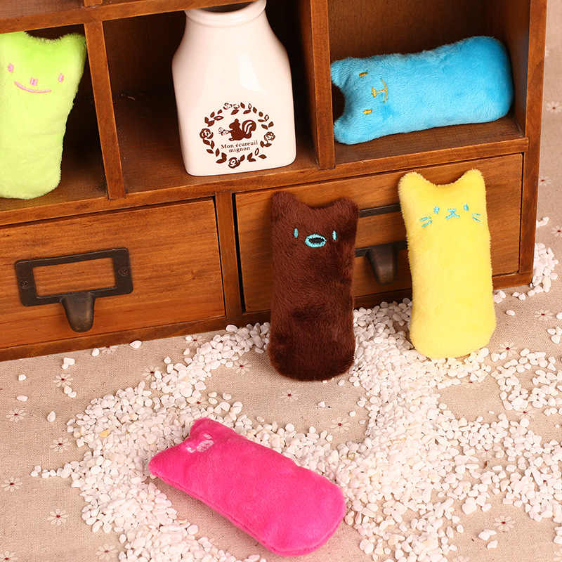 Dents meulage jouets interactif chat jouet animal chat cataire jouets griffes pouce chat chien mâcher jouet chat jouets