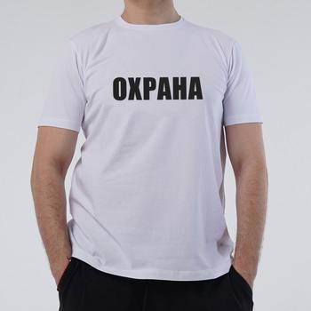 цена на mens 100% cotton t shirts russian description ОХРАНА SECURITY print casual fashion unisex o-neck tops women T-shirt