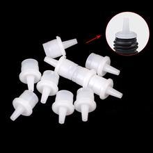 10Pcs Universal False Eyelashes Glue Bottle Plug Cap Stopper Eye lash Glue Blocking Needle for Eyela