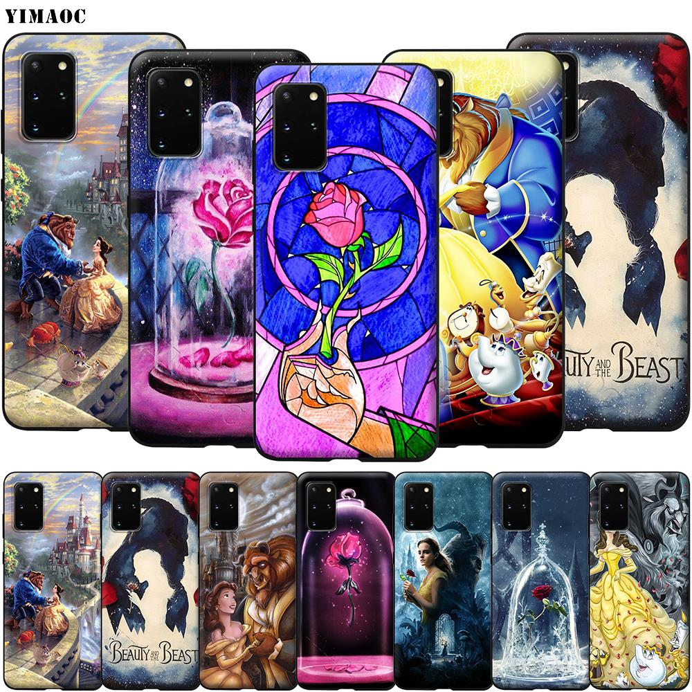 YIMAOC Beauty And The Beast Soft <font><b>Silicone</b></font> <font><b>Case</b></font> for <font><b>Samsung</b></font> Galaxy S6 <font><b>S7</b></font> S10e <font><b>Edge</b></font> S8 S9 Plus A3 A5 A6 A7 A8 A9 J6 Note 8 9 2018 image