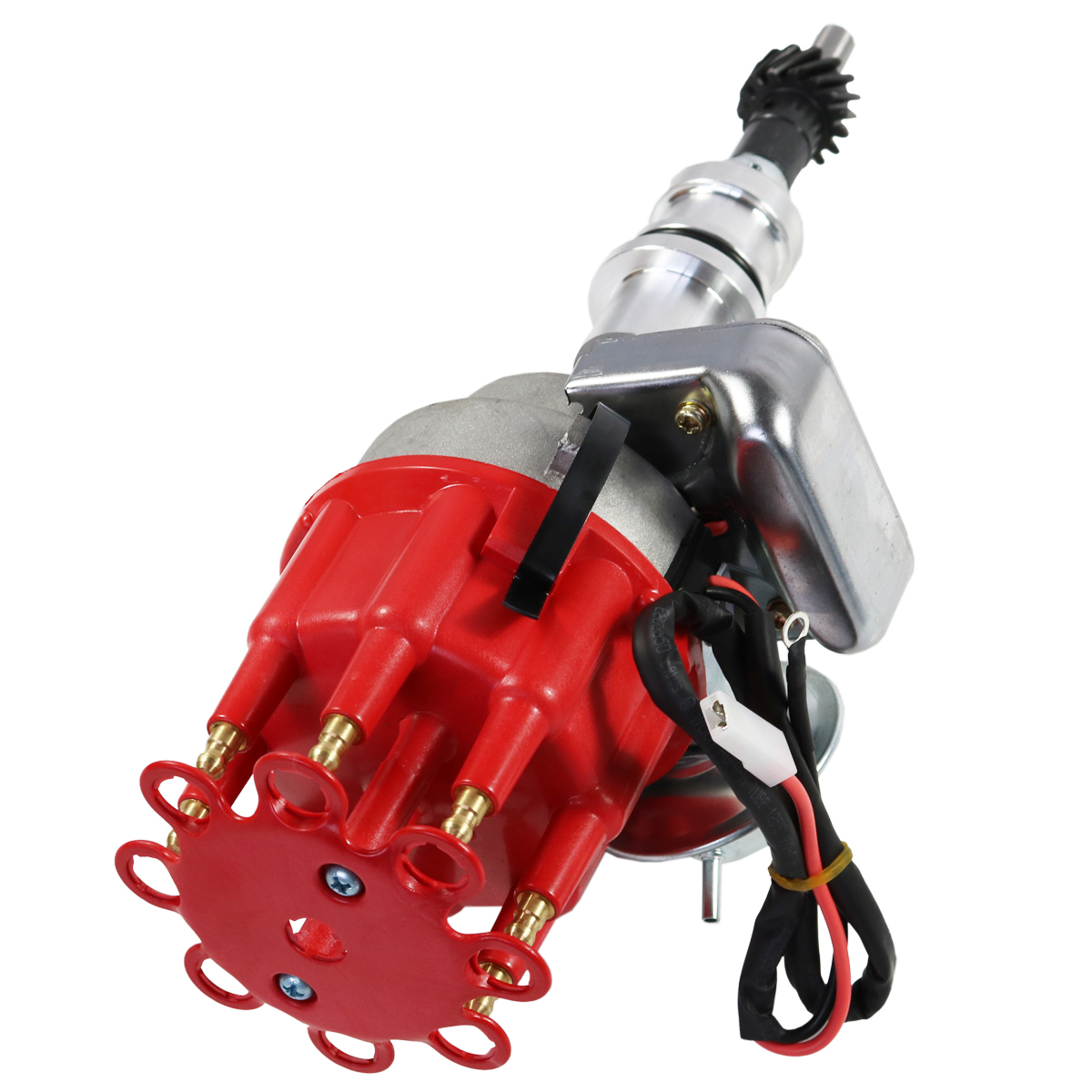 SBF Ford Small Block 289 302 R2R Distributor With Red Cap Ready 2 Run