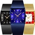 NIBOSI 2020 Männer Uhren Top-marke Quarz Armbanduhr Platz Männer Uhren Wasserdicht Mesh-Armband Kleid Uhr Reloj Hombre