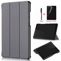 iBuyiWin Megnetic Case For Lenovo Tab M8 TB 8505F TB 8505X 8.0 inch Tablet Funda Capa Cover for M8 FHD TB 8705F/8705N +Film+Pen|Tablets & e-Books Case| |  -