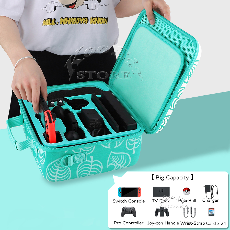 2020 Newest Nintend Switch NS Accessories EVA Protective Travel Bag Nintendoswitch Carrying Case Storage Box for Nitendo Switch(China)