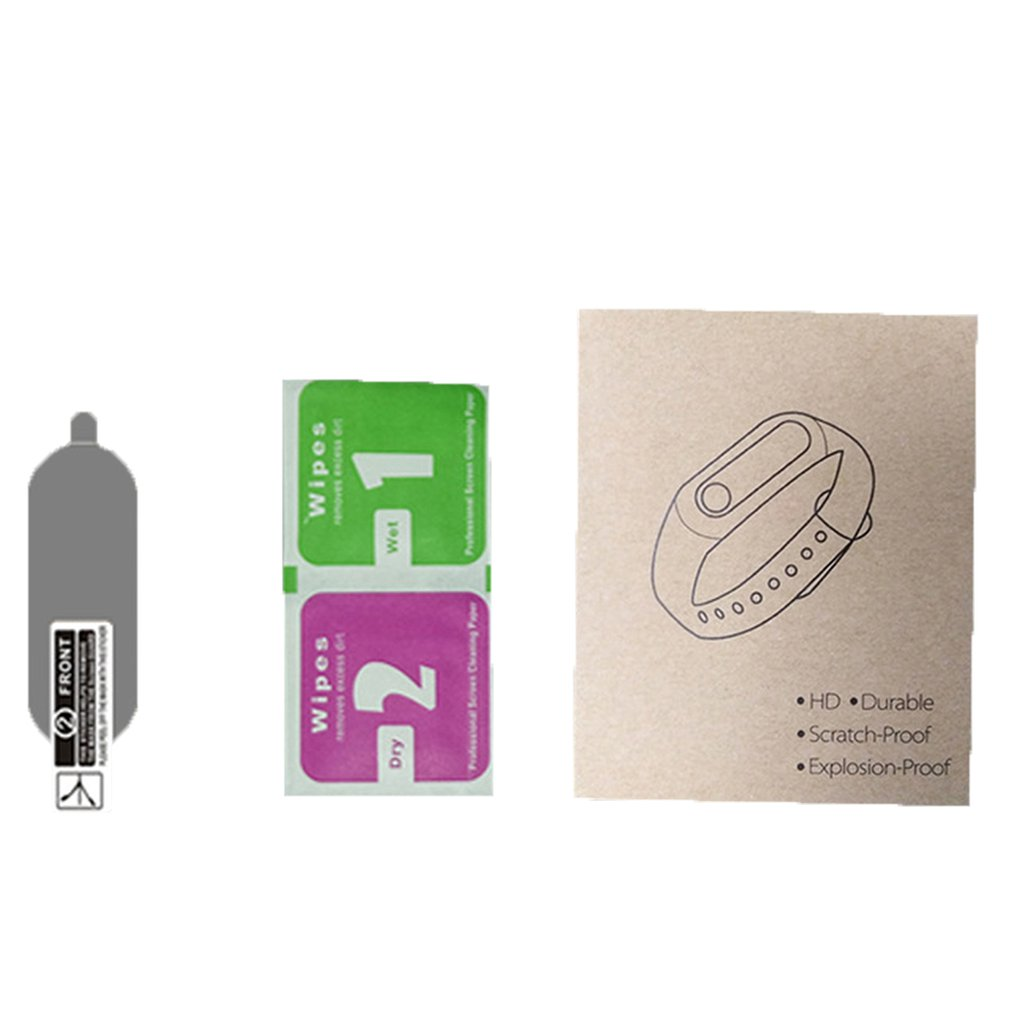Permeability-Film Mi-Band 4-Screen-Protector Xiaomi Soft-Film Smart-Bracelet-Accessories