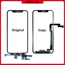Advaka Touch Screen Digitizer Glass Lens Replacement For iPhone X / XS / XR / XS Max Touch Panel Repair For iphone  X XS Max TP