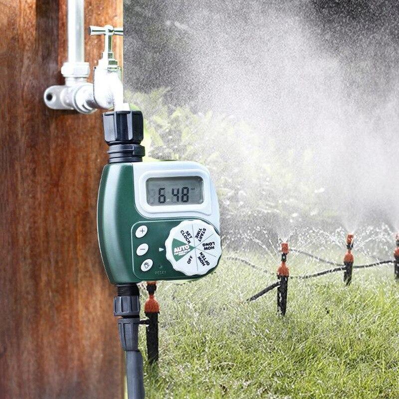 Home Garden Irrigation Timer Garden Irrigation Controller Solenoid Valve Timer Flower Watering Device